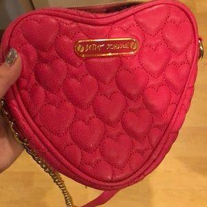 Hot pink Betsy Johnson purse!